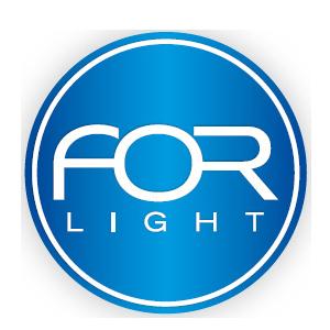 Découvrez la marque For Light et ses produits chez CONNECTILED