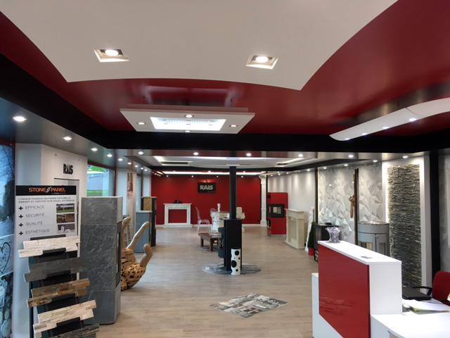 Toutes nos réalisations de magasins sont a retrouver sur notre site internet : www.connectiled.com