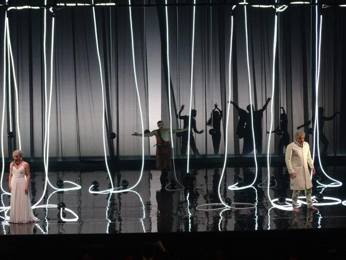 DÉCOR DE SCÈNE pour l'Opéra de Tours réalisé par CONNECTILED