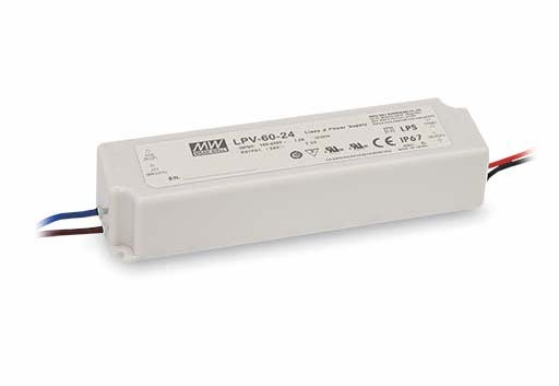 Alimentation LPV60-12V IP67 en vente chez CONNECTILED
