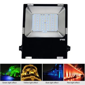 Projecteur LED 50 Watt RGB rectangle en vente chez CONNECTILED