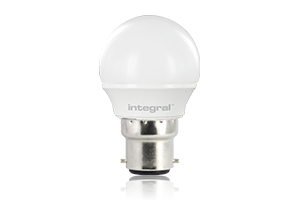 B22 MINI-GLOBE 3 Watt Integral LED en vente chez CONNECTILED