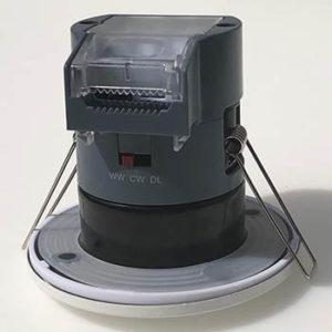Spot 6 Watt fixe Mauna PLUS recouvrable et switchable